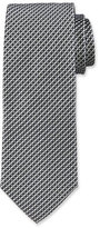 HUGO BOSS Neat Silk Tie, Gray