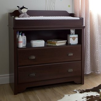 South Shore Fundy Tide Changing Table Dresser Color: Royal Cherry