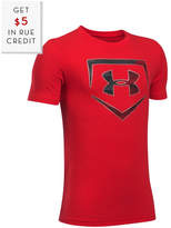 Under Armour Boys' Baseball Logo T-Shirt With $5 Rue Credit