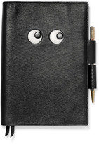 Anya Hindmarch Textured-Leather Notebook Set