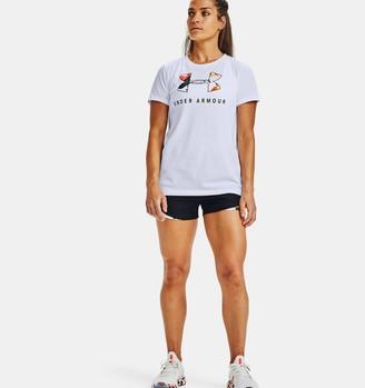 Under Armour Women's UA Play Up 3.0 Upstream Camo Shorts