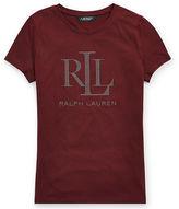 Ralph Lauren Petite Studded Jersey T-Shirt