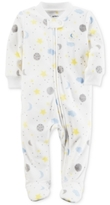 Carter's Space-Print Fleece Footed Coverall, Baby Boys & Girls (0-24 months)