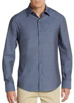 Vince Camuto Regular-Fit Mock-Pocket Sportshirt
