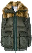 Sacai padded coat - women - Feather Down/Modacrylic/Nylon/Polyester - 1