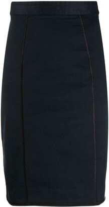 Dolce & Gabbana Pre Owned 1990s Knee-Length Pencil Skirt