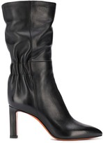 Santoni scrunched boots