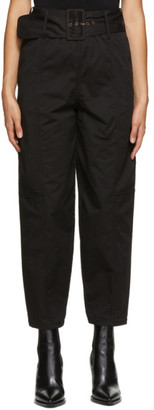 See by Chloe Black Cocoon Trousers