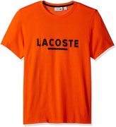 Lacoste Men's Tennis Lifestyle Short Sleeve Technical T-Shirt