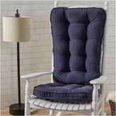 Asstd National Brand Jumbo Hyatt Rocking Chair Cushion Set