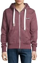 Superdry Zip-Front Hoodie, Port True Grit
