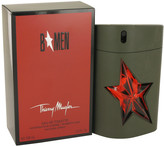 Thierry Mugler B Men Eau De Toilette Refillable Rubber Flask Spray for Men (3.4 oz/101 ml)