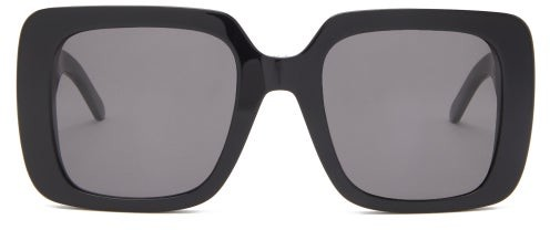 Thumbnail for your product : Christian Dior Wildior Oversized Square Acetate Sunglasses - Black