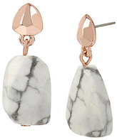 Kenneth Cole New York Howlite Drop Earrings