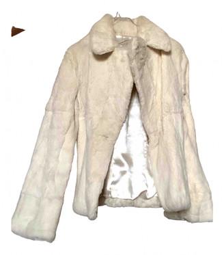 Stefanel White Rabbit Coats