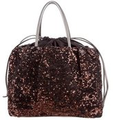 Dolce & Gabbana Sequined Drawstring Tote