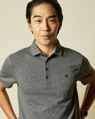 Ted Baker Geo Polo Top