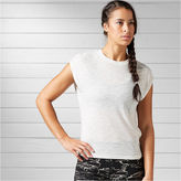 Reebok Short Sleeve Crew Neck T-Shirt-Womens