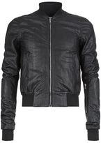 Rick Owens Snakeskin Bomber Jacket