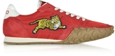 Kenzo Move Red Nylon Memento Sneakers