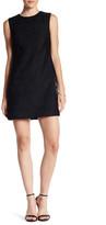 Cynthia Steffe Jade Sleeveless Tiled Mesh Shift Dress