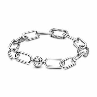 Pandora Women Silver Hand Chain Bracelet - 598373-4