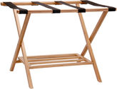 Click Clack Household Essentials Bamboo Luggage Rack with Tray