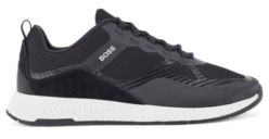 HUGO BOSS Hybrid trainers with suede overlays