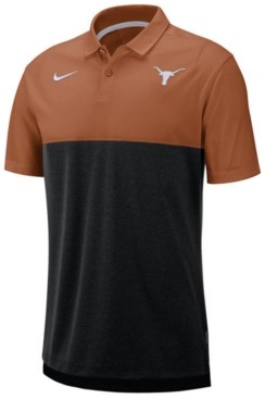 Nike Men's Texas Longhorns Dri-Fit Colorblock Breathe Polo