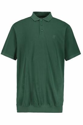 JP 1880 Men's Big & Tall 2-Pack Polo Shirts Rust Melange Navy XXXX-Large 704317 52-4XL