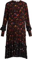 Preen Line Yasmina floral-print crepe dress