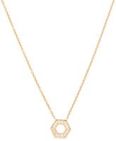 14K Yellow Gold & 0.09 Total Ct. Diamond Jennifer Yamina Necklace