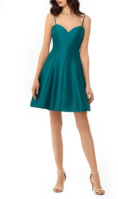 Xscape Evenings Bow Back Mikado Party Dress