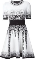 Yigal Azrouel jacquard ombre knitted dress