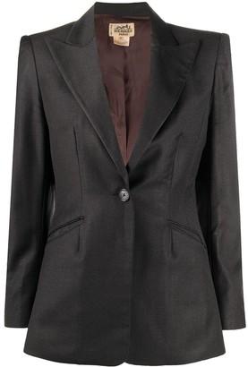 Hermes Pre-Owned Single-Breasted Blazer