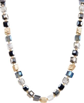 Saachi Goldtone & Faceted Bead Necklace