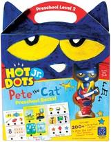 Educational Insights Hot Dots Jr. Pete the Cat Preschool Level 2 Activity Book & Talking Pen Set