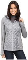MICHAEL Michael Kors Short Diamond Quilt Down w/ Knit Sleeves MA820286T Women's Coat