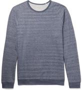 Paul Smith Mélange Loopback Cotton-Jersey Sweatshirt