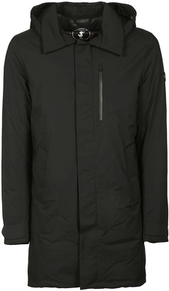Save The Duck Chest Zip Pocket Hooded Parka