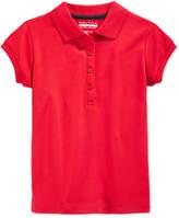 Nautica School Uniform Polo, Little Girls