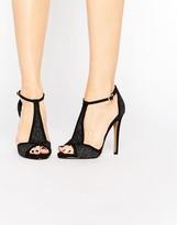 Ravel T Bar Heeled Sandals