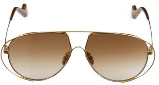 Loewe 60MM Browline Pilot Sunglasses