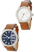 Diesel Men's & Women's Double Down His & Her Watch Set