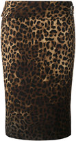 Tom Ford leopard print pencil skirt
