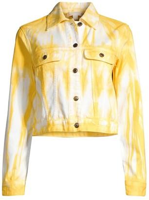 MICHAEL Michael Kors Tru Tie-Dye Denim Jacket