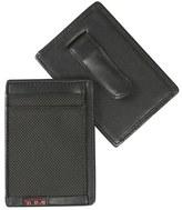 Tumi 'Alpha' Money Clip Card Case