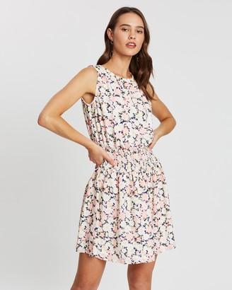Atmos & Here Gabrielle Shirred Dress