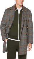 Perry Ellis Plaid Brushed Wool Jacket