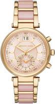 MICHAEL Michael Kors 39mm Chronograph Bracelet Watch, Rose/Golden